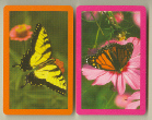 SWAP CARD   PAIR OF BUTTERFLIES # 1